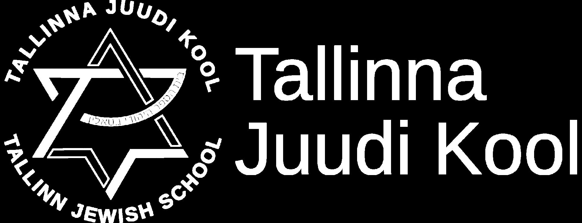 White logo Tallinn Jewish School